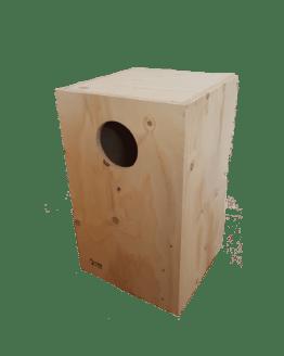 Nido di legno per Amazzoni